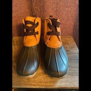 Sperry Saltwater 2 Eye Nubuck Duck Boots